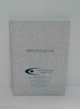 APPOINTMENT BOOK 6 COL GREY