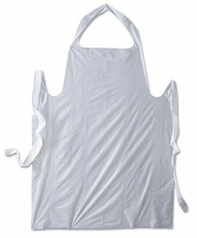 DISPOSABLE APRONS WHITE PK100