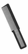 WAHL BARBERS COMB LARGE BLACK