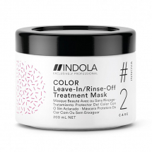 INDOLA INNOVA COLOUR LEAVE IN/ RINSE OFF TREATMENT MASK 200ML
