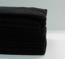 HG BLEACH RESISTANT TOWEL BLACK
