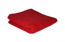HAIR TOOLS TOWEL RAUNCHY RED