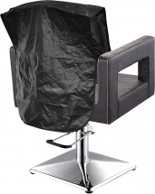 CHAIR BACK COVER 18inch BLACK