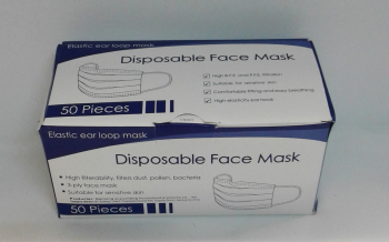 DISPOSABLE FACE MASK PK50